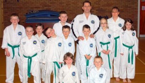 Taekwon-Do Class - Green Belts
