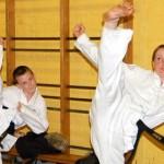 High Kick in Taekwon-Do