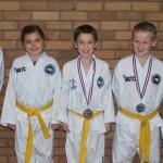 Children Taekwon-Do (coloured belts)